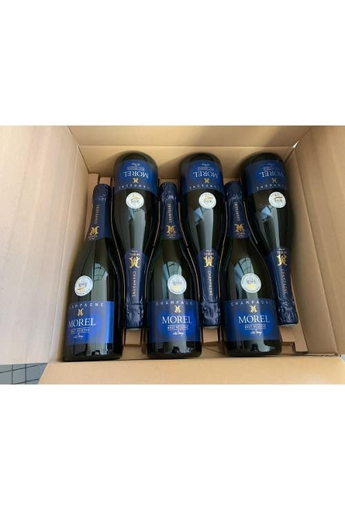 Champagne Morel Carton de 6 bouteilles