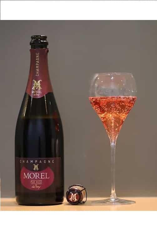 Champagne Morel Pur Rosé Coupe
