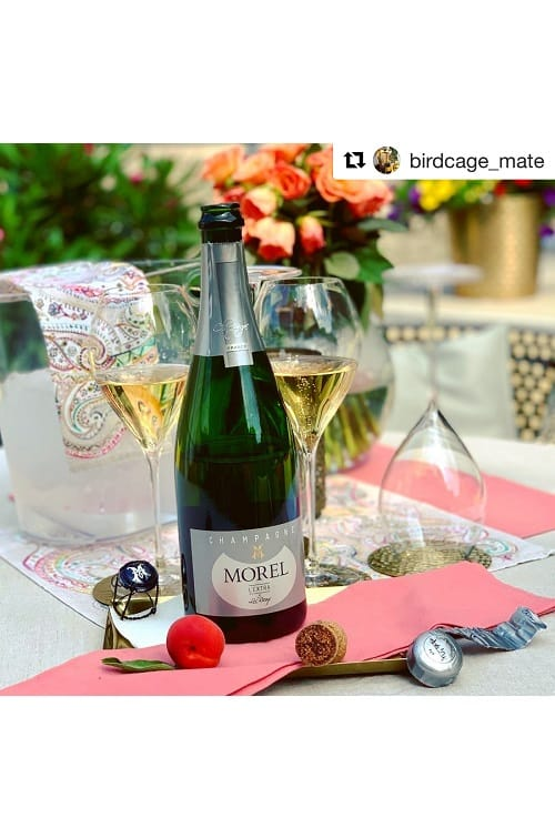 Champagne Morel Extra Brut Mariage