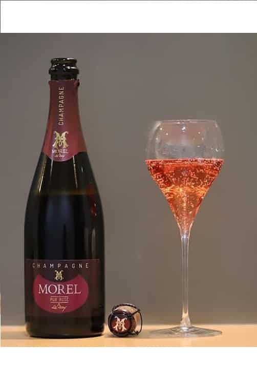 Champagne Pur Rose glass