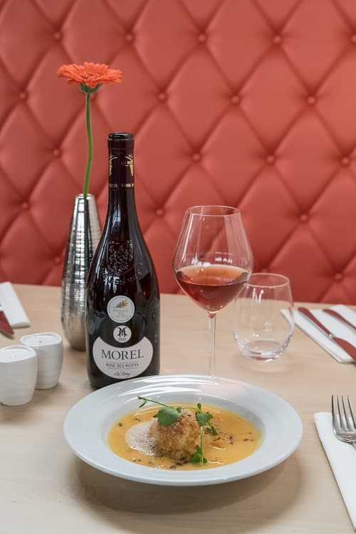 Rosé des Riceys pairing with food